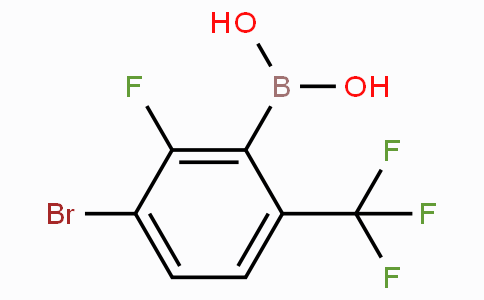 3-Bromo-2-fluoro-6-(trifluoromethyl)phenylboronic acid
