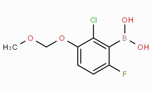 2-Chloro-6-fluoro-3-(methoxymethoxy)phenylboronic acid