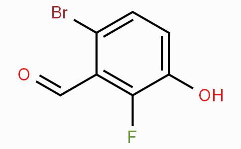 6-Bromo-2-fluoro-3-hydroxybenzaldehyde