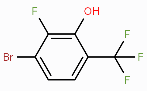 3-Bromo-2-fluoro-6-(trifluoromethyl)phenol