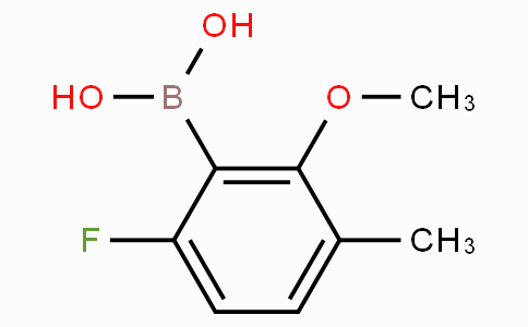 6-Fluoro-2-methoxy-3-methylphenylboronic acid