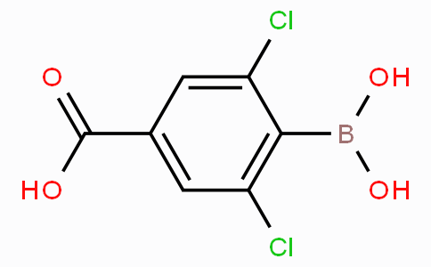 4-Carboxy-2,6-dichlorophenylboronic acid