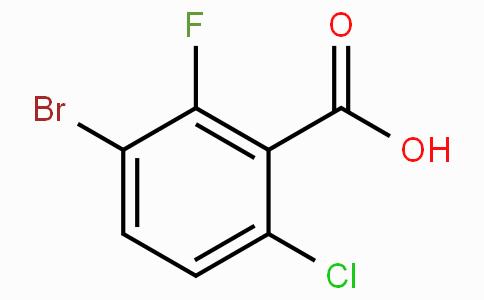 3-Bromo-6-chloro-2-fluorobenzoic acid