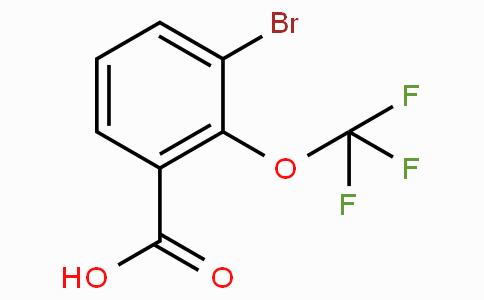 3-Bromo-2-(trifluoromethoxy)benzoic acid