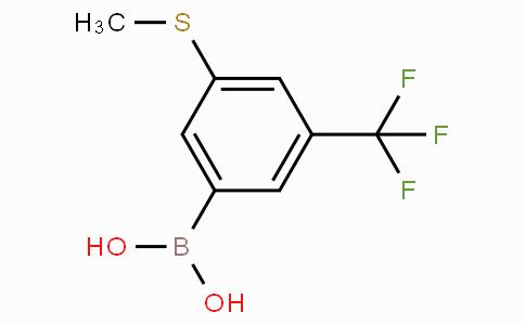 3-(Methylthio)-5-(trifluoromethyl)phenylboronic acid