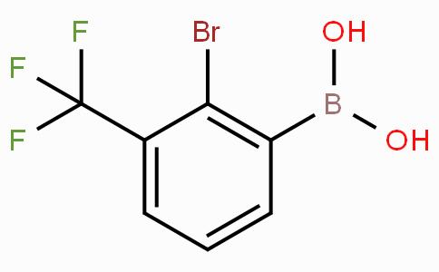 2-Bromo-3-trifluoromethylphenylboronic acid