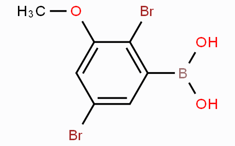 2,5-Dibromo-3-methoxyphenylboronic acid
