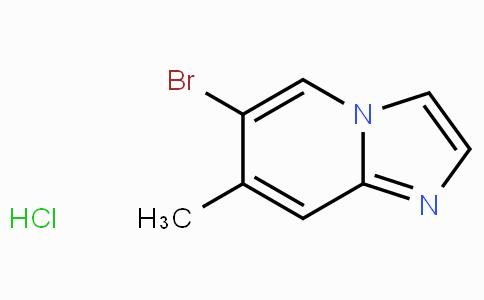 6-Bromo-7-methylimidazo[1,2-a]pyridine hydrochloride