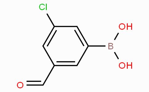 3-Chloro-5-formylphenylboronic acid