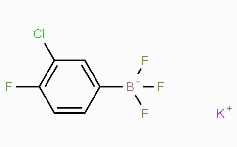 Potassium (3-chloro-4-fluorophenyl)trifluoroborate