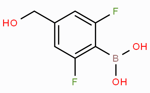 4-Hydroxymethyl-2,6-difluorophenylboronic acid