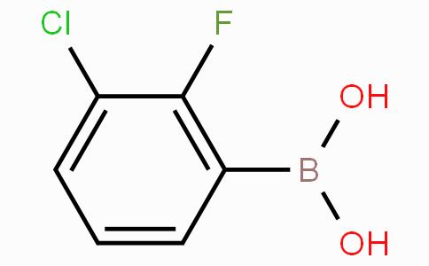 3-Chloro-2-fluorophenylboronic acid