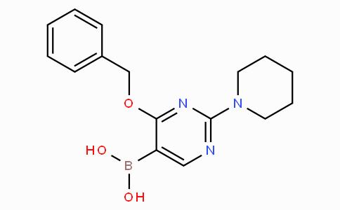 4-苄氧基-2-哌啶-1-基 - 嘧啶-5-硼酸