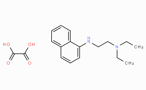N-(2-二乙氨基乙基)-1-萘胺草酸盐