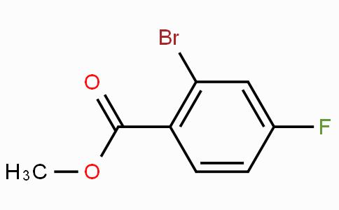 Methyl 2-bromo-4-fluorobenzoate
