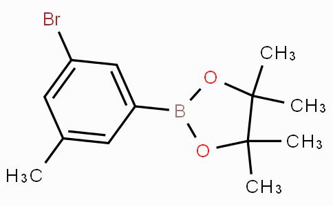 2-(3-Bromo-5-methylphenyl)-4,4,5,5-tetramethyl-1,3,2-dioxaborolane