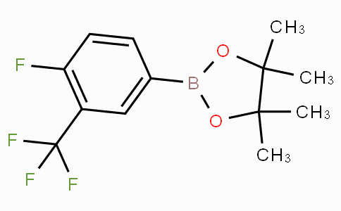 4-Fluoro-3-(trifluoromethyl)phenylboronic acid pinacol ester