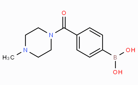 4-(4-Methylpiperazine-1-carbonyl)phenylboronic acid