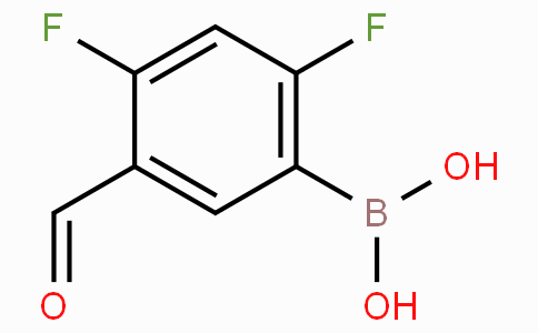 2,4-Difluoro-5-formylphenylboronic acid