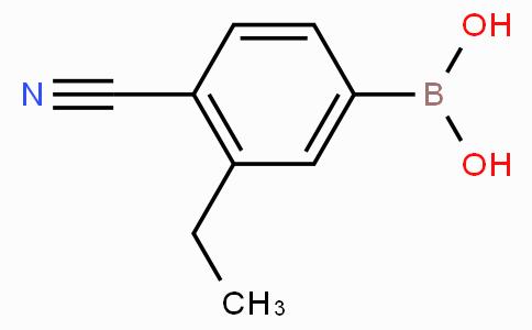 4-Cyano-3-ethylphenylboronic acid