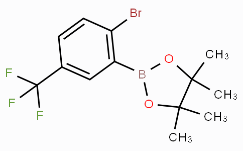 2-Bromo-5-trifluoromethylphenylboronic acid pinacol ester