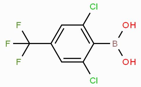 2,6-Dichloro-4-(trifluoromethyl)phenylboronic acid