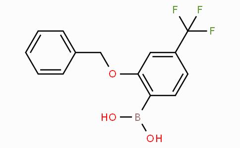 2-Benzyloxy-4-(trifluoromethyl)phenylboronic acid