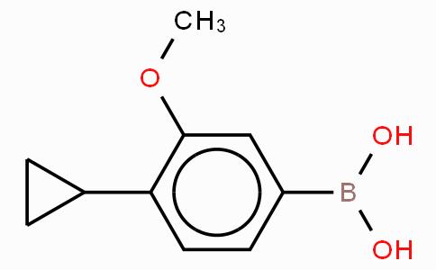 4-Cyclopropyl-3-mehtoxyphenylboronic acid