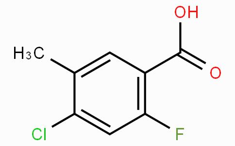4-Chloro-2-fluoro-5-methylbenzoic acid