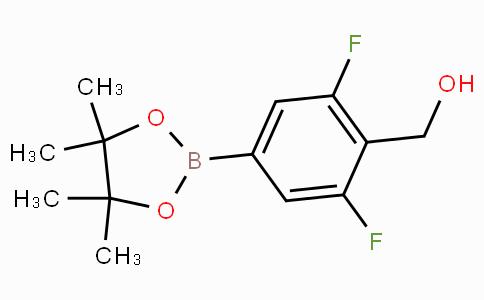 2,6-difluoro-4-(4,4,5,5-tetramethyl-1,3,2-dioxaborolan-2-yl)-benzenemethanol