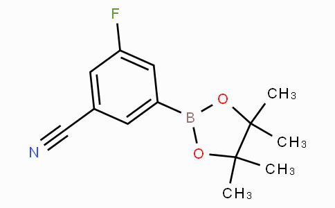 3-Cyano-5-fluorophenylboronic acid pinacol ester