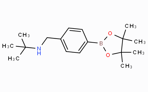 4-(Tert-butylaminomethyl)phenylboronic acid pinacol ester