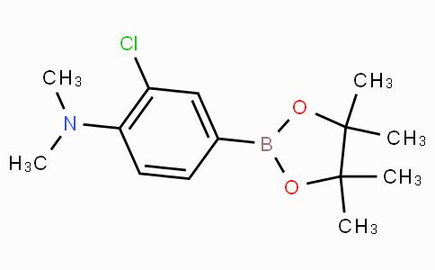 3-Chloro-4-(N,N-dimethylamino)phenylboronic acid pinacol ester