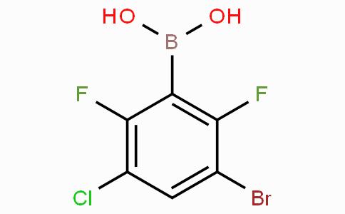 3-Bromo-5-chloro-2,6-difluorophenylboronic acid