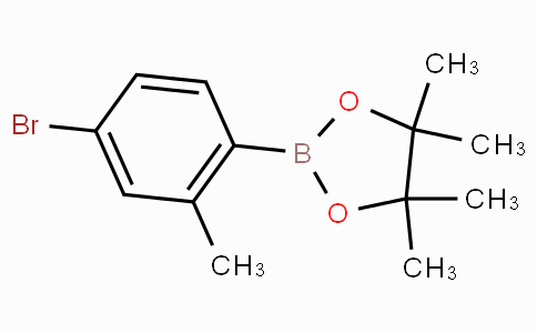 2-(4-Bromo-2-methylphenyl)-4,4,5,5-tetramethyl-1,3,2-dioxaborolane