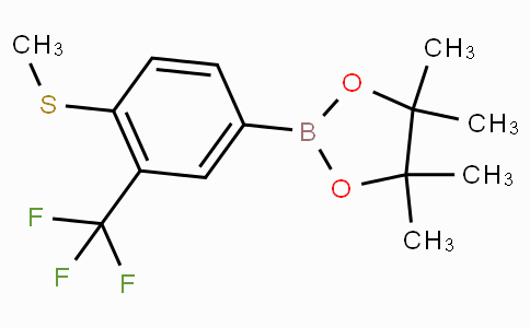 4-Methylthio-3-(trifluoromethyl)phenylboronic acid pinacol ester