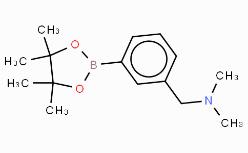 3-(N,N-Dimethylaminomethyl)phenylboronic acid, pinacol ester
