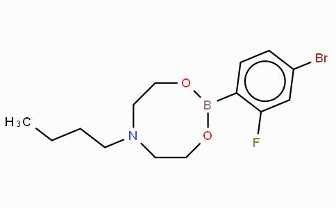 4-Bromo-2-fluorophenylboronic acid N-butyldiethanolamine ester