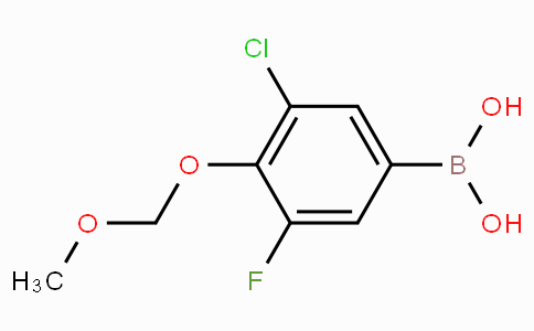 3-Chloro-5-fluoro-4-(methoxymethoxy)phenylboronic acid