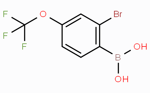 2-Bromo-4-(trifluoromethoxy)phenylboronic acid