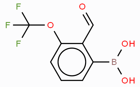 2-Formyl-3-(trifluoromethoxy)phenyboronic acid