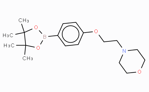 4-(2-Morpholinoethoxy)phenylboronic acid, pinacol