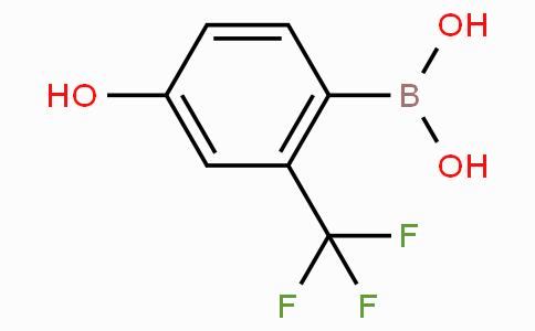 4-Hydroxy-2-(trifluoromethyl)phenylboronic acid