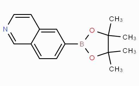 6-(4,4,5,5-tetramethyl-1,3,2-dioxaborolan-2-yl)isoquinoline