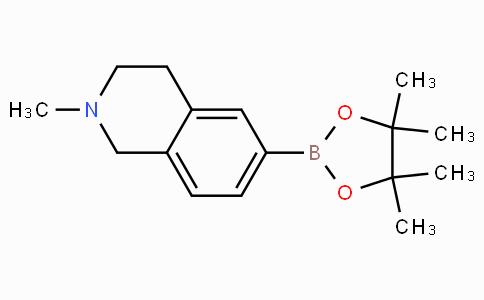 2-Methyl-6-(4,4,5,5-tetramethyl-1,3,2-dioxaborolan-2-yl)-1,2,3,4-tetrahydroisoquinoline