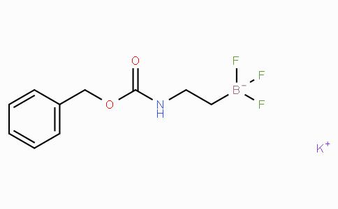 Potassium [2-(benzyloxycarbonylamino)ethyl]trifluoroborate