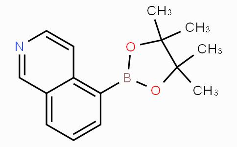 5-(4,4,5,5-Tetramethyl-1,3,2-dioxaborolan-2-yl)isoquinoline