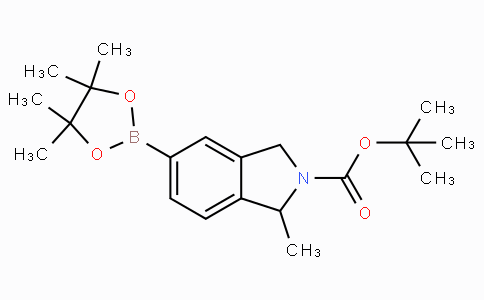 tert-Butyl 1-methyl-5-(4,4,5,5-tetramethyl-1,3,2-dioxaborolan-2-yl)isoindoline-2-carboxylate