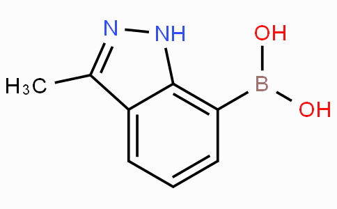 (3-Methyl-1H-indazol-7-yl)boronic acid