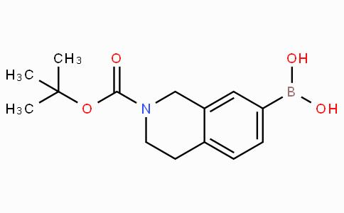 (2-N-Boc-1,2,3,4-tetrahydroisoquinolin-7-yl)boronic acid